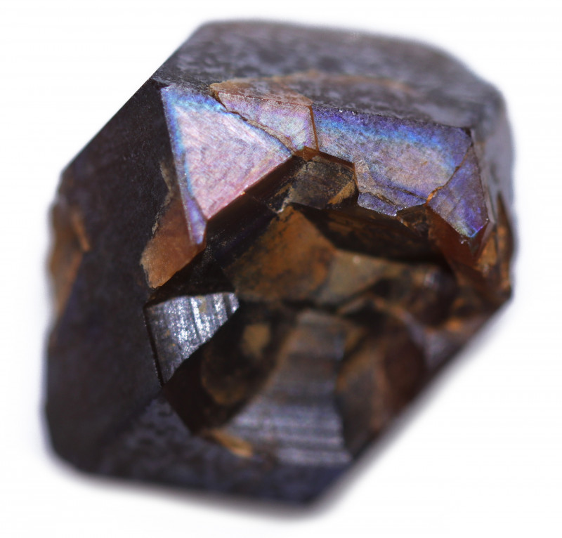 15.20 CTS RARE RAINBOW GARNET SPECIMEN  FROM JAPAN [MGW5404]