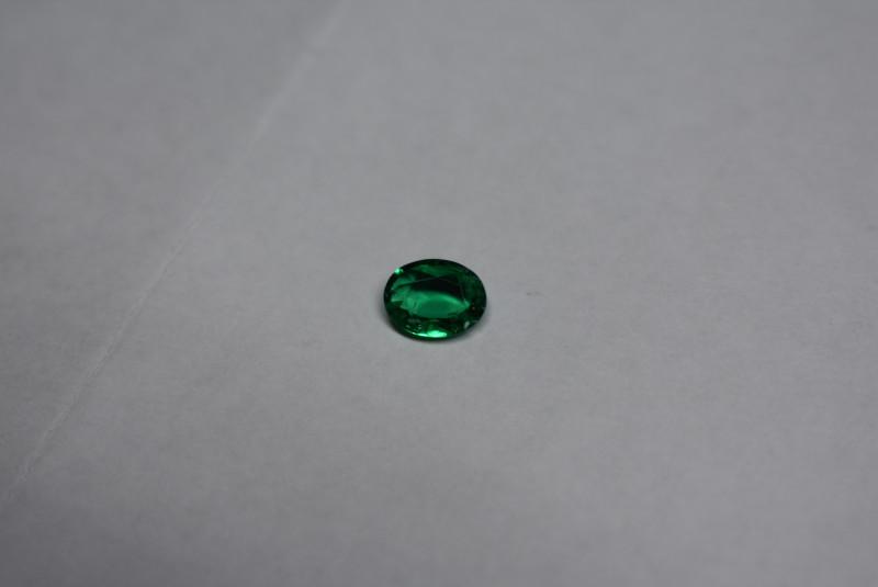 0.53 Carat Vivid Green Panjshir Emerald