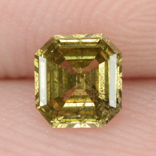 0.30 Cts Untreated Fancy  Intense Green  Color Natural Loose Diamond