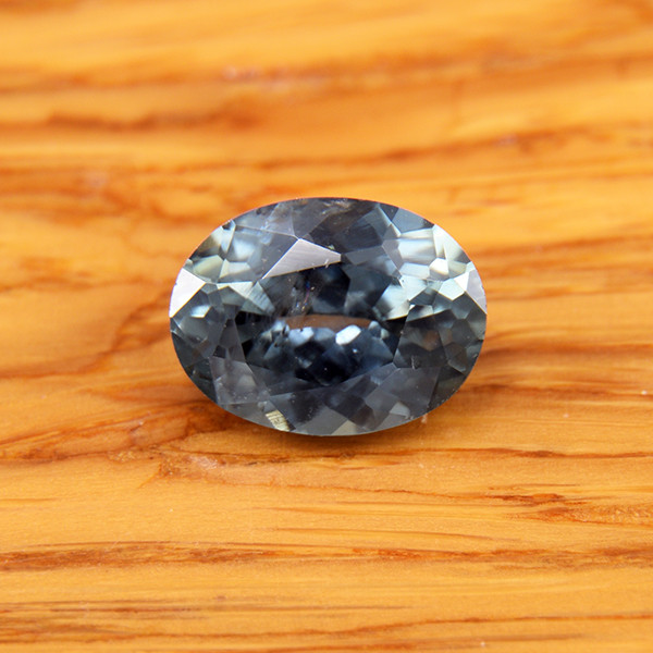 Natural Greenish Blue Sapphire, Ceylon 1.57 Ct (01681)