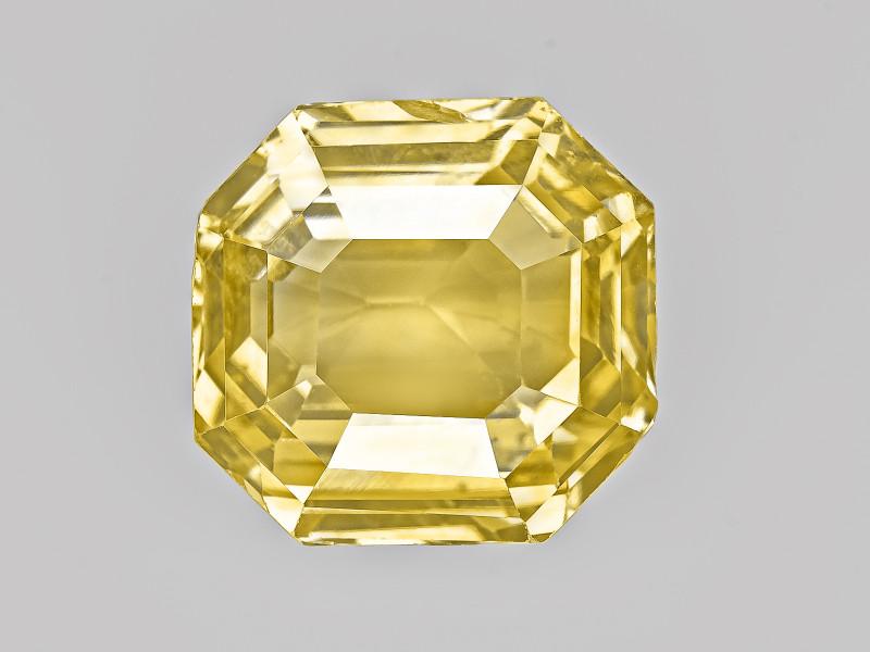 Yellow Sapphire, 6.14ct