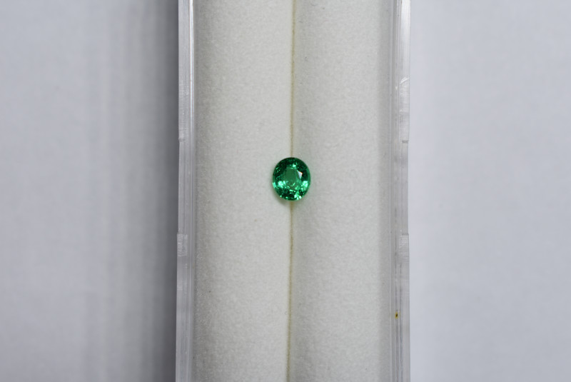 0.30 carat deep Green Panjshir Emerald