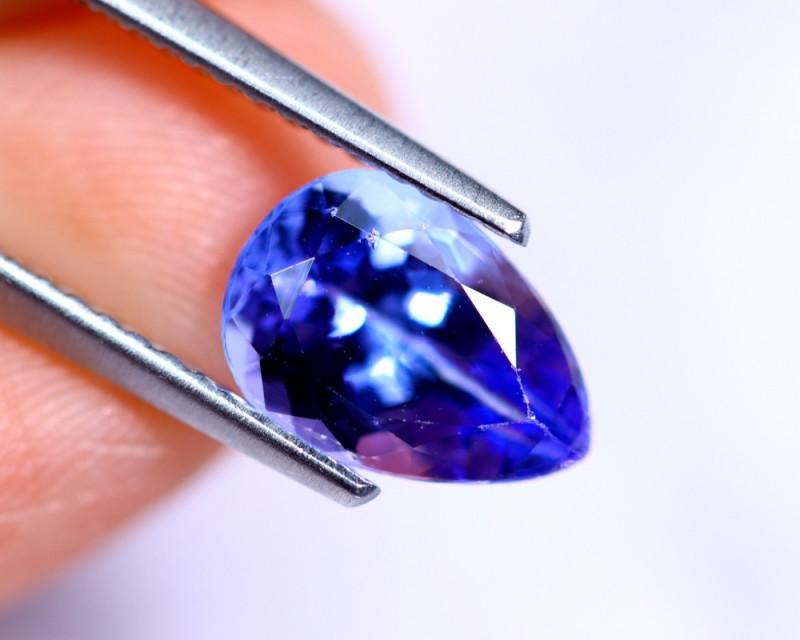 1.80cts Natural Violet Blue D Block Tanzanite / RD488