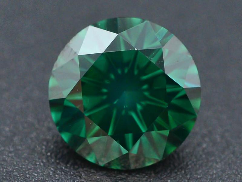 AAA Grade Ravishing Color 2.0 ct Natural Vivid Green Diamond