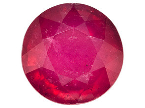 .30 CARAT WEIGHT ROUND CUT RUBELLITE TOURMALINE