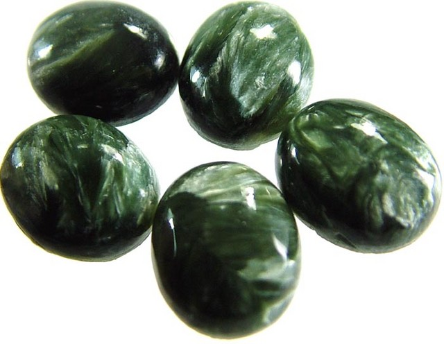 SERAPHINITE PARCEL-LEAFY PATTERN 22.1 CTS [ST3715 ]