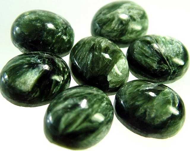 SERAPHINITE PARCEL-LEAFY PATTERN 30.5 CTS [ST3722 ]