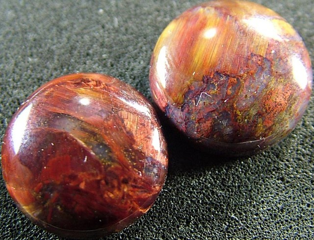 PIETERSITE CAB PAIR FROM CHINA 15.1  CTS  [ST3774 ]
