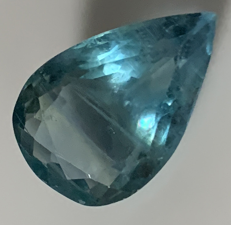 11.13ct Teal Blue Green Fluorite  No Reserve auction ★