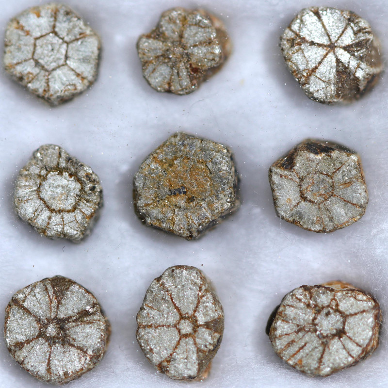 7.00 CTS CHERRY BLOSSOM SILVER  /GOLDEN PARCEL [STS1665]