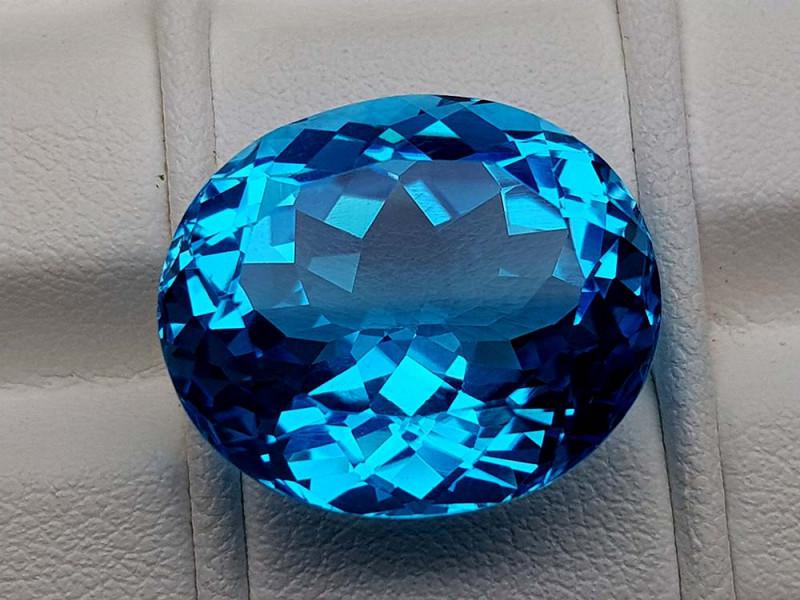 24.75Crt Natural Blue Topaz Stone JIBT09