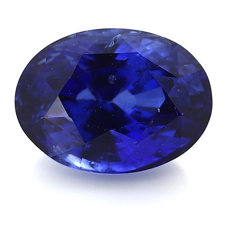 2.19 ct Oval Blue Sapphire: Rich Royal Blue