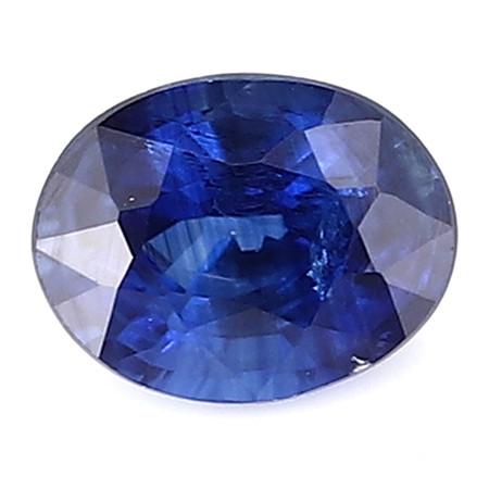 0.28 ct Oval Blue Sapphire: Royal Blue