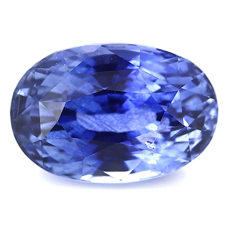 2.63 ct Oval Blue Sapphire: Rich Royal Blue