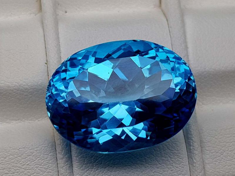 27.65Crt Natural Blue Topaz Stone JIBT12