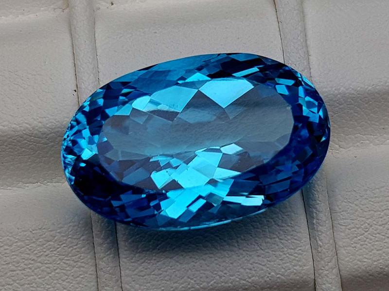 27.45Crt Natural Blue Topaz Stone JIBT18
