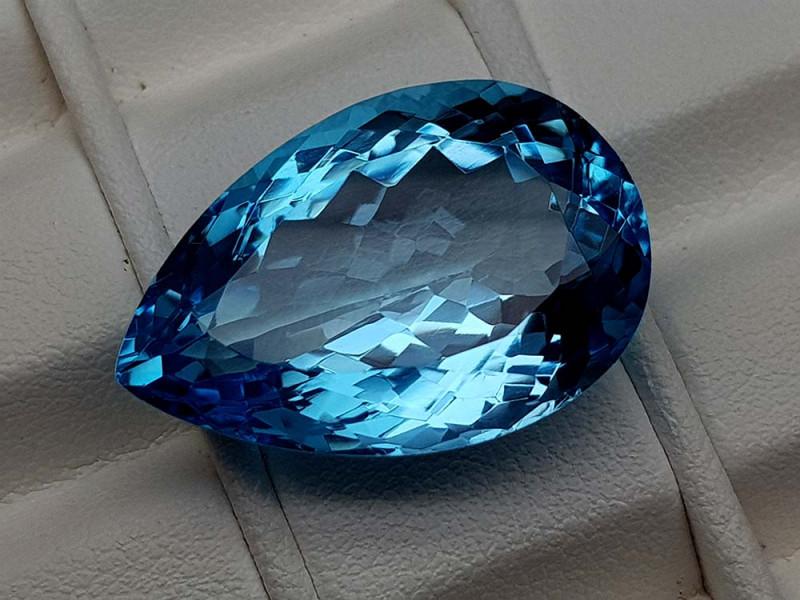 27.55Crt Natural Blue Topaz Stone JIBT21