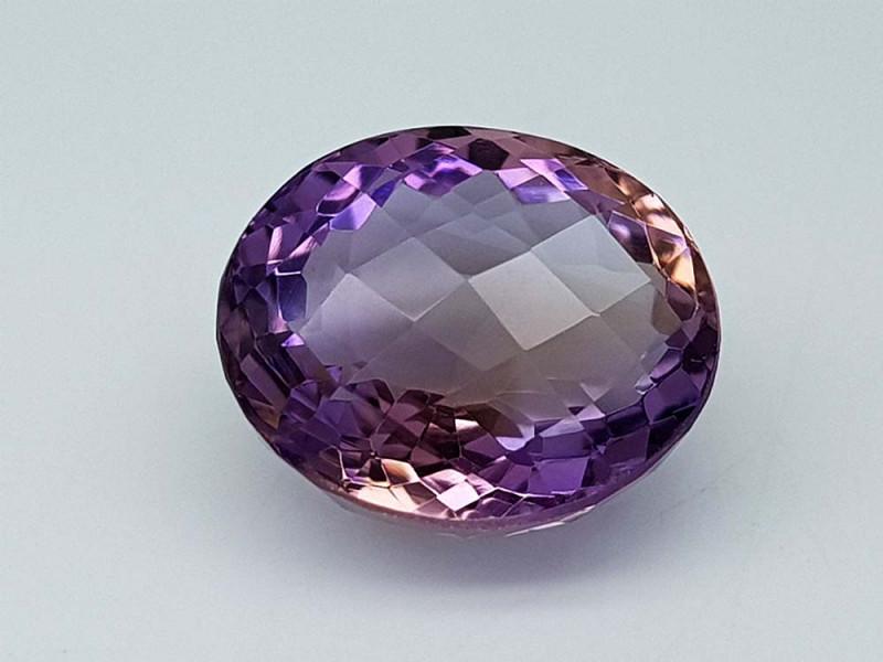 12.25Crt Bolivian Ametrine Stone JIAMT33