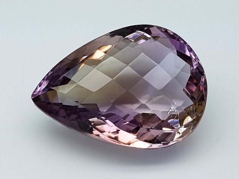 17.45Crt Bolivian Ametrine Stone JIAMT42