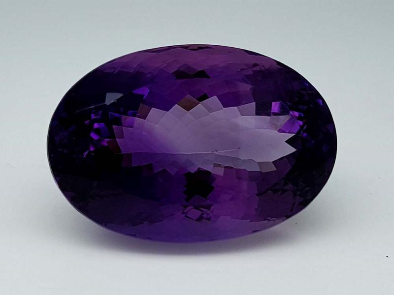 58.85Crt Natural Amethyst Stone JI50