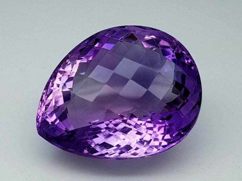55.75Crt Natural Amethyst Stone JI53