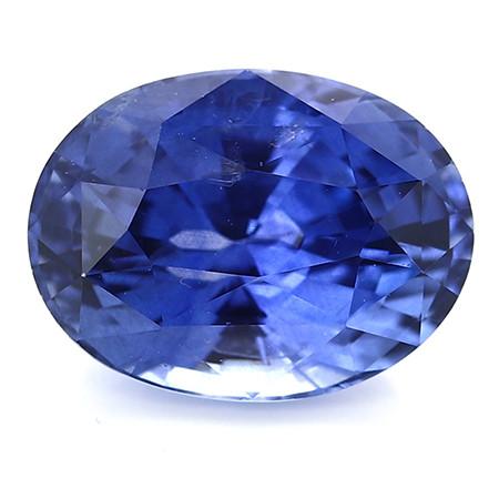 3.03 ct Oval Blue Sapphire: Royal Blue