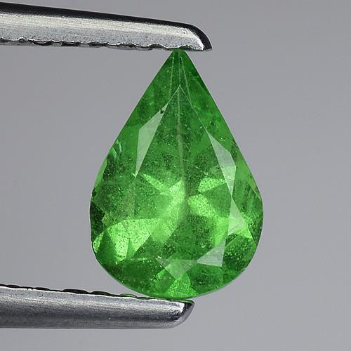 0.62 Ct Tsavorite Garnet Sparkling Luster Gemstone TS 71
