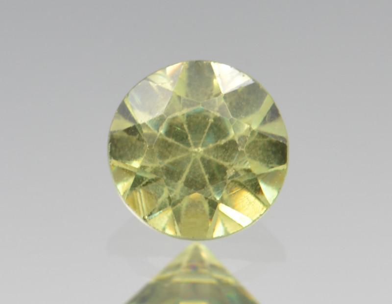 Natural Demantoid Garnet 0.43 Cts, Full Sparkle Faceted Gemstone