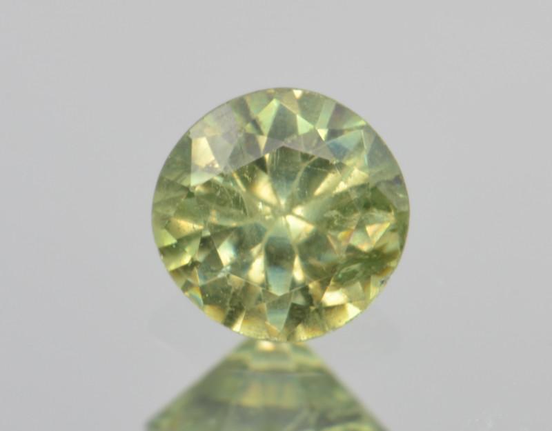 Natural Demantoid Garnet 0.44 Cts, Full Sparkle Faceted Gemstone