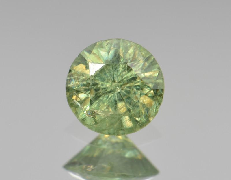 Natural Demantoid Garnet 0.55 Cts, Full Sparkle Faceted Gemstone