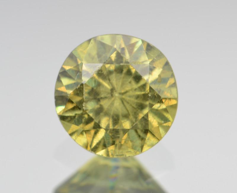 Natural Demantoid Garnet 1.04 Cts, Full Sparkle Faceted Gemstone