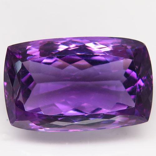 20.63 Ct. Natural Rich Purple Amethyst Uruguay  Unheated
