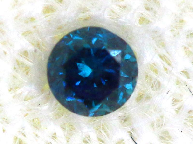 0.04 Cts Blue Diamonds brilliant cut  SD-397
