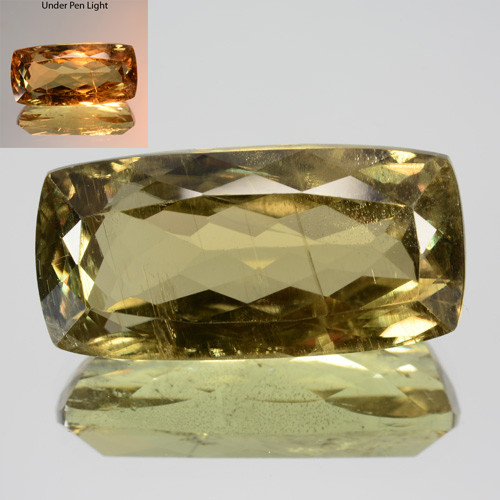 ~RAREST~ 10.88 Cts Natural Color Change Diaspore Cushion Cut Turkey