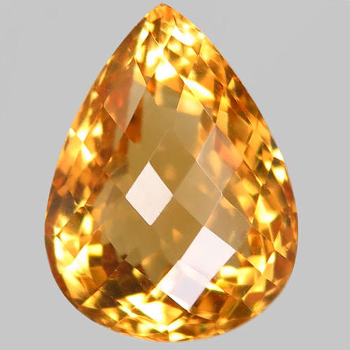22.30 ct. 100% Natural Unheated Top Yellow Golden Citrine