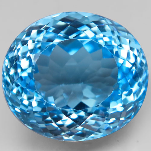 25.96 ct. 100% Natural Earth Mined Top Quality Blue Topaz Brazil
