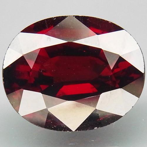 6.65 Ct. Natural Top Red Rhodolite Garnet Africa Unheated