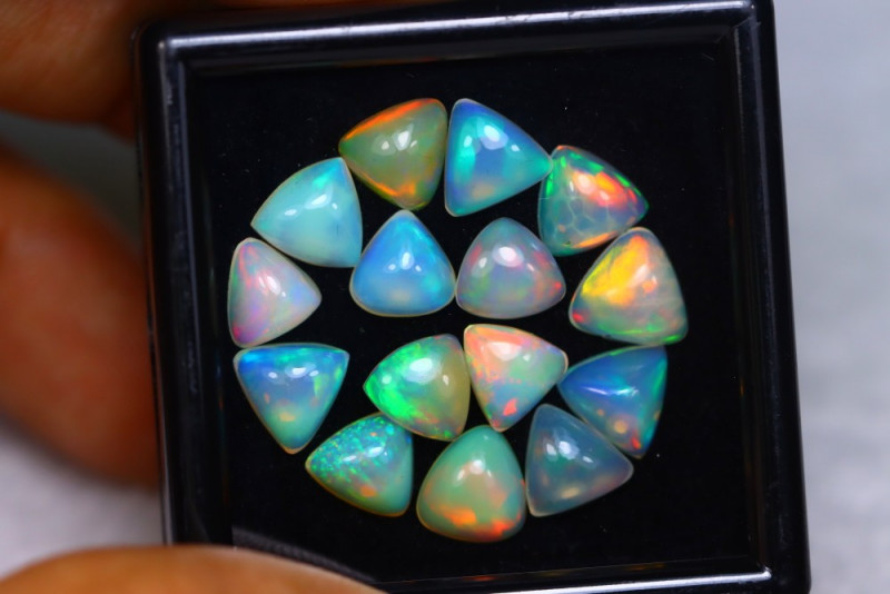 9.76Ct Natural Ethiopian Welo Opal Lot V5941