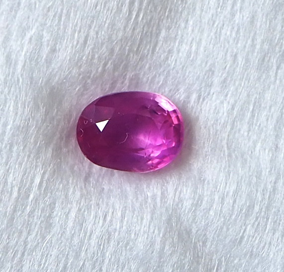 2.10ct natural pink sapphire