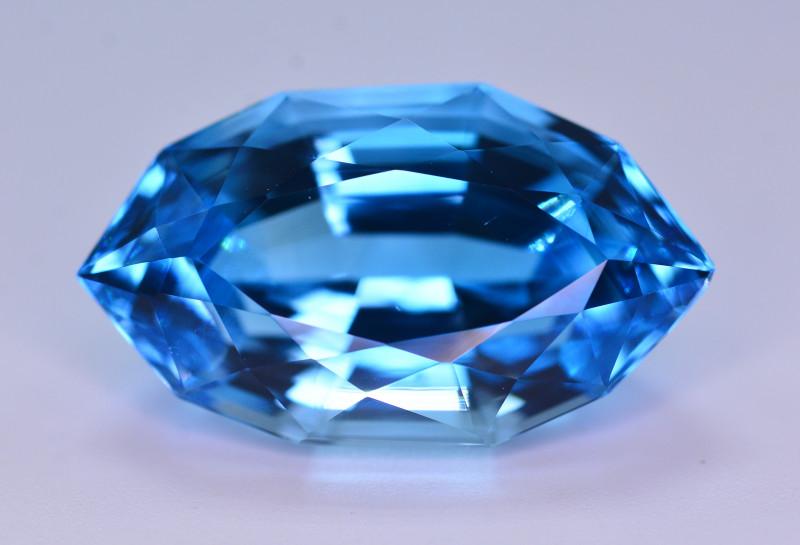 Stunning 23.95 Ct Natural Blue Topaz Gemstone