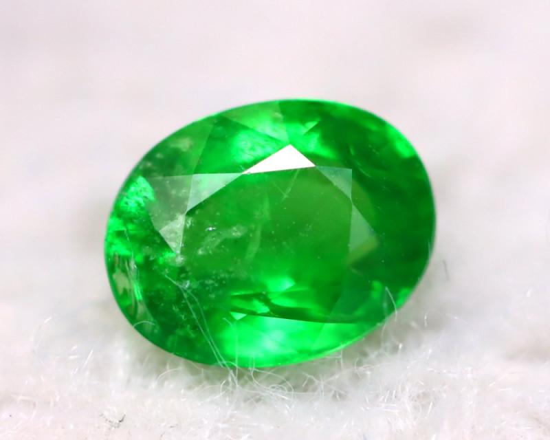 Tsavorite 1.40Ct Natural Intense Vivid Green Color Tsavorite Garnet DN37