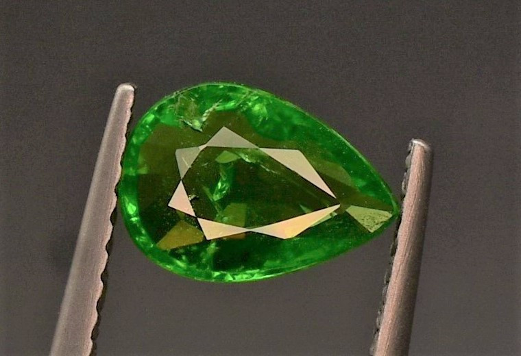 Top quality Tsavorite Garnet 1.10 carats