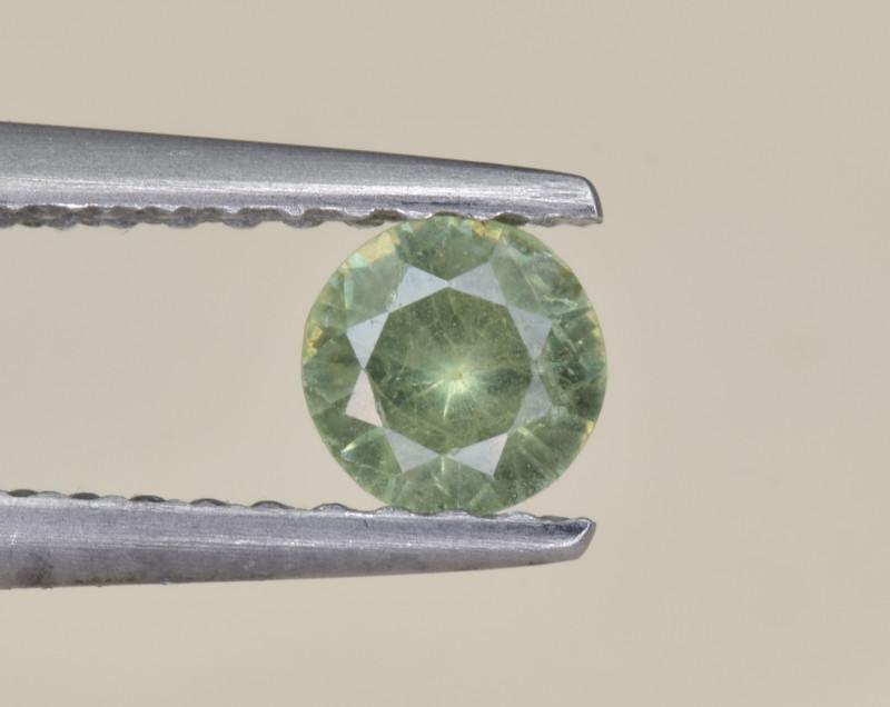 Natural Demantoid Garnet 0.30 Cts, Full Sparkle Faceted Gemstone