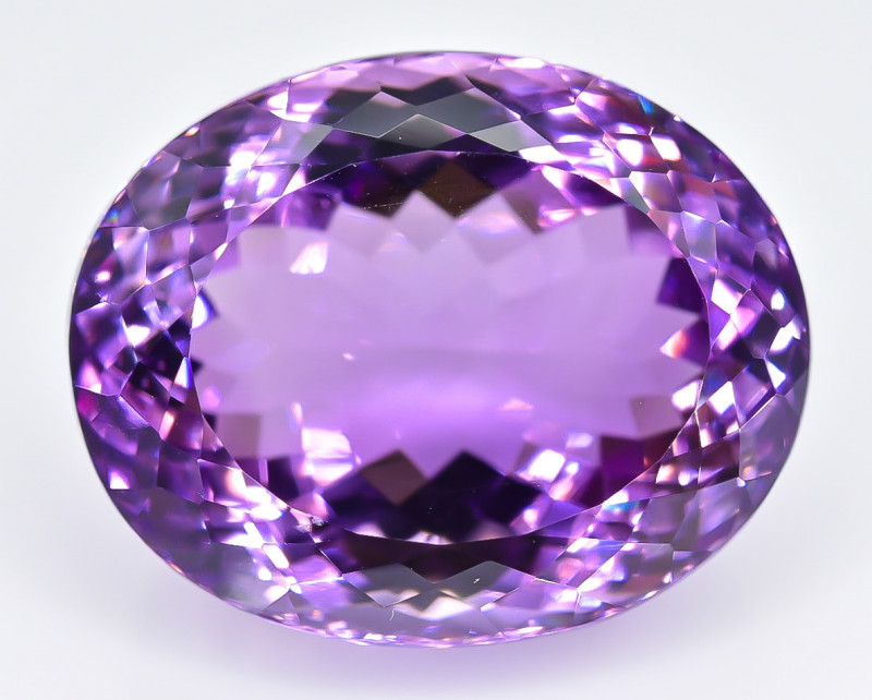 35.95 Crt Natural Amethyst Faceted Gemstone.( AB 30)