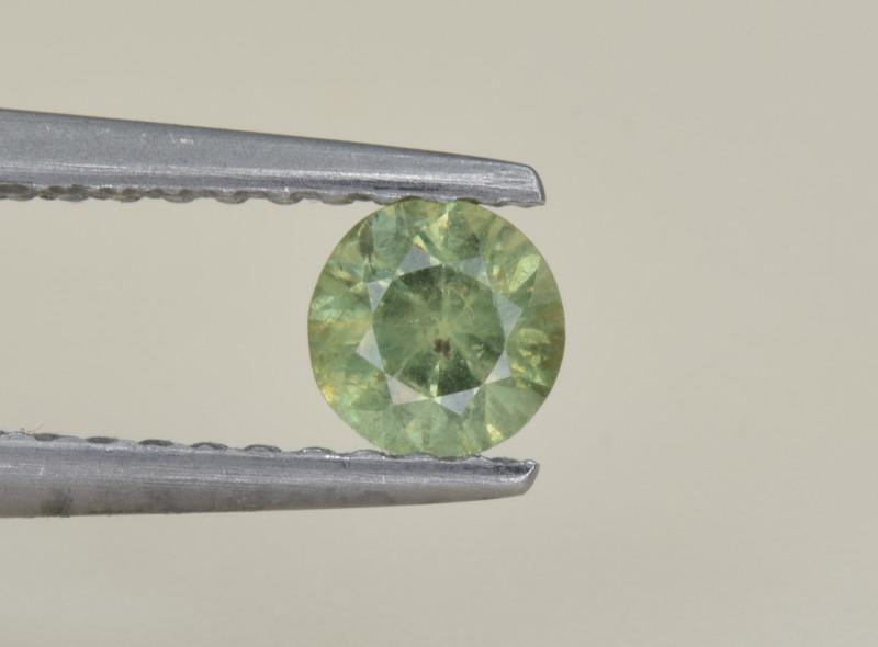 Natural Demantoid Garnet 0.33 Cts, Full Sparkle Faceted Gemstone