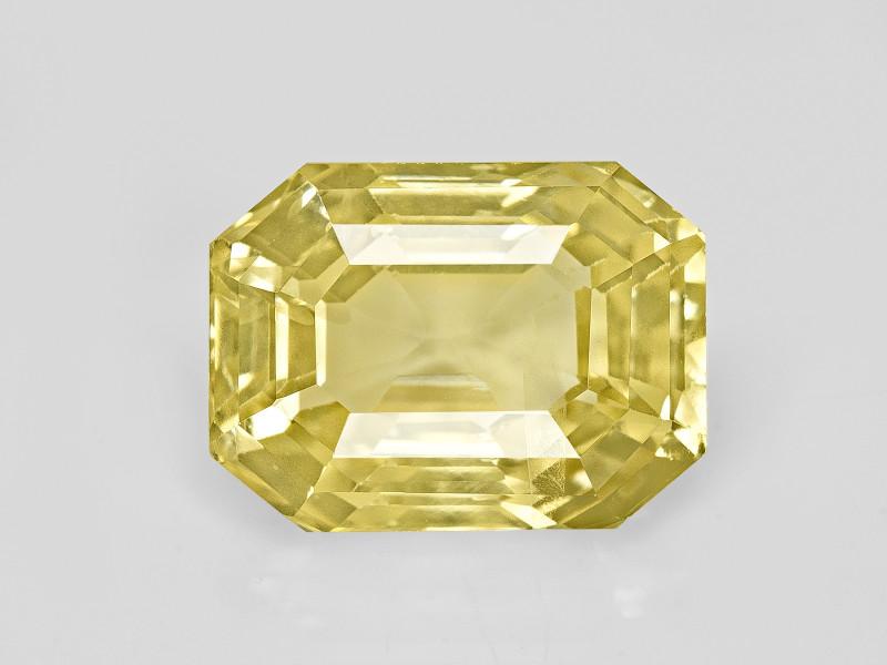 Yellow Sapphire, 6.06ct