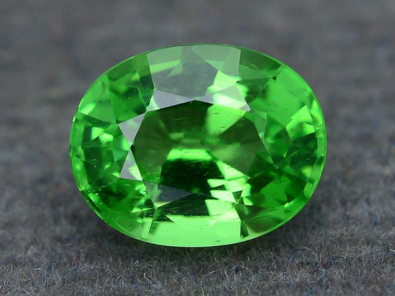 AAA Grade 1.24 ct Forest Green Tsavorite Garnet SKu-7