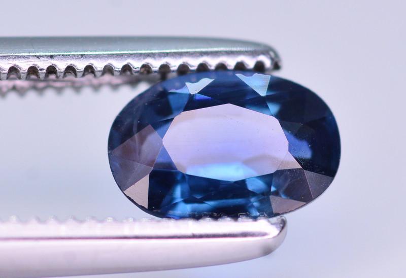 Gorgeous Color 0.75 Ct Natural Royal Blue Sapphire. RAH