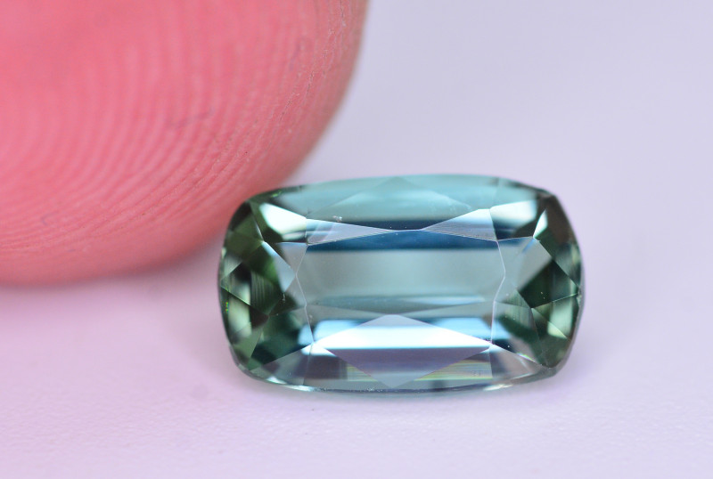 Amazing Color 1.55 Ct Natural Tourmaline From Afghanistan. RA