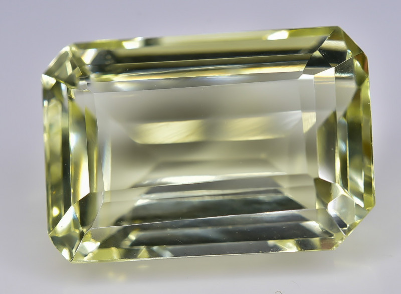 12.02 Crt Lemon Quartz Faceted Gemstone (Rk-3)
